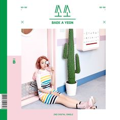 """So So"" is the single recorded by South Korean singer Baek A Yeon (백아연). It will be released on May 2016 by JYP Entertainment. Details Artist: Baek A Music Covers, Cd Cover, Album Covers, Album Design, Baek A Yeon, Surf, Cd Packaging, Pop Design, Graphic Design"