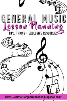 Lesson planning can be very complicated and maddening for general music teachers. There are so many different (yet valid) ideas on which concepts are most important to teach, what concepts to teach in which grade, and how to teach those concepts. Then there's the whole problem of trying to juggle so many different grade levels' lesson plans at once, and how to keep track of all of those plans once you've made them. Let me show you how I do it in my elementary music classes! Classroom Setup, Music Classroom, Classroom Organization, Elementary Choir, Elementary Music Lessons, Classroom Management Tips, Behavior Management, Music Teachers, Teaching Music