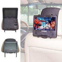 Amazon.com : TFY Universal Car Headrest Mount Holder for Portable DVD Player : Car Electronics
