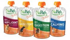 NuPath supplements are based on Pure-Ease, a pumpkin puree blend. Pumpkin aids digestion and is high in fiber. Available in four formulas, all developed by veterinarians: Digestion, Skin & Coat, Calming and Hip & Joint. All are packaged in convenient squeeze pouches that last approximately two weeks.  www.wfyoung.com