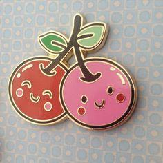 Cherry Buddies! bbllowwnn x Wink Pins