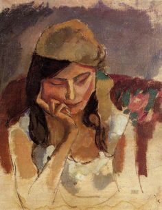 Femme au turban . 1907 - Jules Pascin 1885/1930