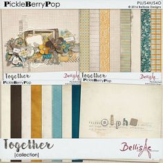 TOGETHER | collection by Bellisae Designs LOVE THE COLORS