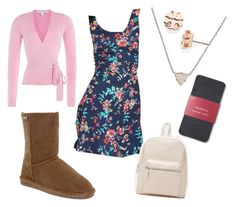 """""""Emma goes Back to School as the Teacher's Pet"""" by bearpawstyle on Polyvore featuring Bearpaw, Forever 21, Tory Burch and Diane Von Furstenberg"""