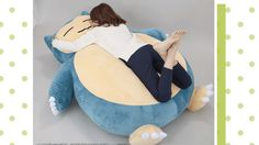If there s any invention Japan has been endlessly mocked for, it s the full-body pillow that is often shaped like an anime character (typically female). This pillow, however? This is one ingenious pillow. I can t believe it took twenty entire years for someone to think of turning the Pokemon Snorlax into a giant pillow. It s perfect. [ ]