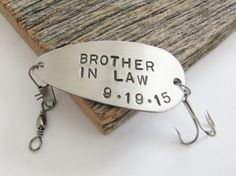 Wedding Gift Ideas For Groom From Brother : Gift for Brother In Law Wedding Gift for Brother of the Groom Brother ...