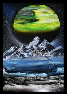 Awesome spray paint art