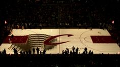 Cleveland Cavaliers PreGame Court Projection. Quince Imaging, in partnership with the Cleveland Cavaliers' Q-TV team and Think Media Studios...