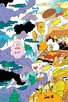 Adventure Time #3 (Cover C) by Mike DeForge