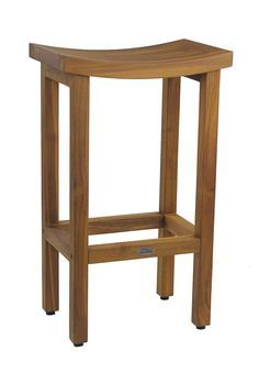 These AquaTeak® teak wood bar stools are beautiful and ideal for wet environments such as poolside, spa, and bathroom. Order your bar stool today! Wood Bar Stools, Wood Stool, Teak Wood, Extra Tall Bar Stools, Bath Stool, Luxury Home Furniture, Bars For Home, Luxury Homes, Countertops