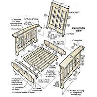 Morris Chair Woodworking Plan