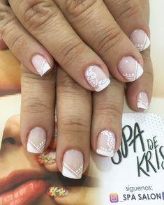 Nail Art Videos, Healthy Nails, French Nails, Wedding Nails, Pink Nails, Nail Art Designs, Nailart, Beauty, Nail Arts