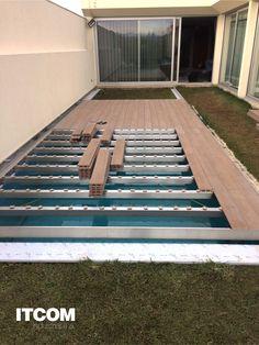 Backyard Pool Designs, Small Backyard Pools, Swimming Pools Backyard, Swimming Pool Designs, Pool Decks, Pool Landscaping, Swimming Pool Architecture, Mini Piscina, Swiming Pool
