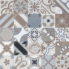 Carreaux de ciment | STOCK boutique online | MOSAIC del SUR Floor Texture, Tiles Texture, Texture Design, Room Tiles, Wall Tiles, Cement Tiles, Floor Patterns, Textile Patterns, Mosaic Del Sur