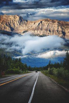 Highway 16 to Jasper, Canada  (by Matt Palmer)