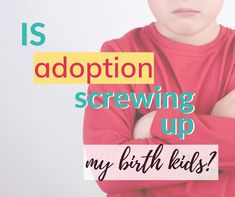 Mixing biological and adopted kids comes with challenges. Can birth and adopted kids be raised together? What is the impact of adopting when you have birth kids? Adopting Older Children, Adopted Children, Adopting A Child, International Adoption, Foster Care Adoption, Oldest Child, True Identity, Special Needs Kids, Thought Process