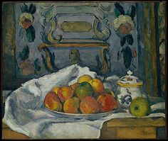Paul Cézanne (French, 1839–1906). Dish of Apples, ca. 1876–77. The Metropolitan Museum of Art, New York