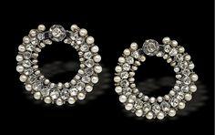 DIAMOND POLKI & PEARL BALI Solabra by Divvya A Bhasin