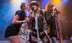 Miley Cyrus and dad Billy Ray join Steel Panther at House of Blues