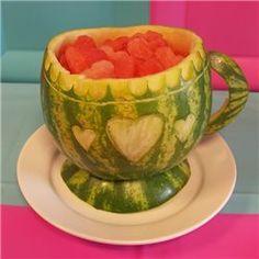 Party Ideas UK Melon Teacup