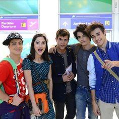 Violetta cast of tournage Saison 3 ☑❤