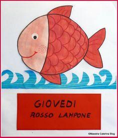 Filastrocca della settimana del pesce cambia colore Pre School, Sewing Tutorials, Montessori, Kindergarten, Dads, Clip Art, Education, Children, Blog