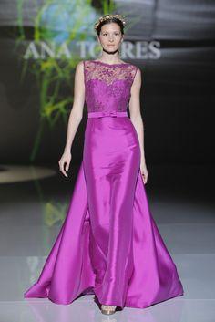 Vestidos de fiesta 2017: Flores por todas partes en los diseños de Ana Torres