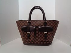 69bfab80eac0 Keeks Buy Sell Designer Handbags - Louis Vuitton Damier Ebene Manosque GM