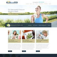 responsive parallax website redesign