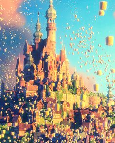 Day 7, Favorite Castle: RAPUNZEL'S! I don't know why, but it's my favorite!