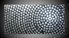 48 x 24 ORIGINAL Abstract Modern Acrylic Painting by acrylkreativ, $339.00