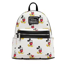 7afe2ca879d9 Loungefly x Mickey Mini Faux Leather Backpack - Backpacks - Disney - Brands  Mickey Backpack,