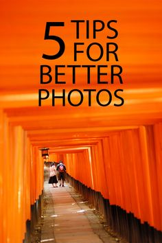 Five tips to help you get better photos without having to worry about learning any technical camera settings.