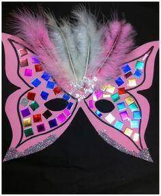 Masque carnaval collage