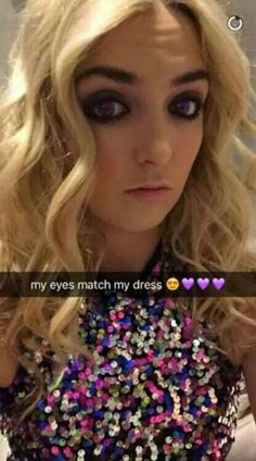 Rydel's snap chat