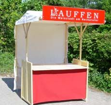 klipklap eco-friendly wooden market stall - Compact offer