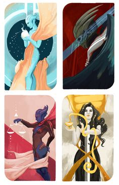 So I've done four of these ME companion cards now… go me.  Who would you like to see next?