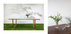IN WOOD WE TRUST     https://www.facebook.com/inwoodwetrustpolska/      photo: Malwina Wachulec http://malwinawachulec.com/    #wood #woodworking #malwinawachulec #inwoodwetrust #woodporn #woodproject #design #wooddesign #table #woodtable #dawanda #etsy