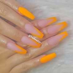 32 Trendy and Glamorous Ombre Coffin Nails for Your Inspiration; Ombre coffin Trendy and Glamorous Ombre Coffin Nails for Your Inspiration; Cute Acrylic Nails, Acrylic Nail Designs, Nail Art Designs, Gel Nails, Coffin Ombre Nails, Matte Nails, Acrylic Nails For Summer Coffin, Mint Nail Designs, Colourful Acrylic Nails