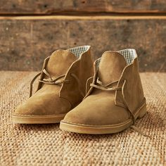 Lace-up this #Friday in @clarksshoes Suede Desert Boot. Now available at AE.com.