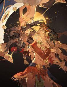 Ishtar and Quetzalcoatl Anime Guys, Manga Anime, Anime Art, Quetzalcoatl Art, Ramses, Character Art, Character Design, Fate Characters, Fate Servants