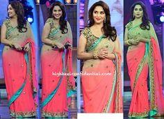 Madhuri Dixit (In Arpita Mehta) On Bigg Boss Sets (For 'Dedh Ishqiya' Promotions)-1