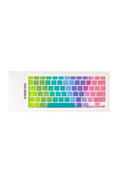 Multicolor Keyboard Cover | Forever 21 | #f21home