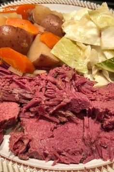 """Slow-Cooker Corned Beef and Cabbage 