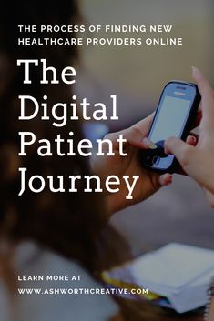 The process of finding a new healthcare provider – from research to discovery to booking that first appointment - is called the patient journey. Reputation Management, Management Company, News Health, Health Care, Healthcare Website, Eye Exam, Appointments, Content Marketing, Discovery