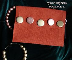 DIY..Tutorial...Jak uszyć prostą kopertówkę?..clutch...