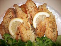 Sandy's Kitchen: Tilapia Al Ajillo (Garlic Tilapia)