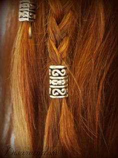 Dori KIT Dwarvish Beard/Hair Bead kit Tolkien LOTR Hobbit Dwarves beard bead hair accessory by Dwarvendom on Etsy