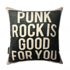 Need this pillow. A living room with this kind of style would be kind of cool.