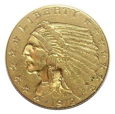 1912 $2.50 Gold Indian Quarter Eagle - Tough to Find